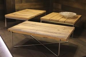 Es muss natürlich aussehen und sich auch so anfühlen, wie bei diesen Tischen von Venjakob. Foto: Kölnmesse